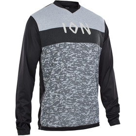 ION Scrub AMP Longsleeve Shirt Heren, black